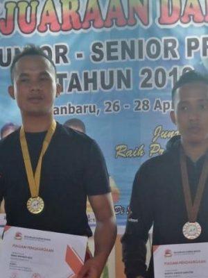Peraih Medali Perunggu Lomba Wushu Tingkat Provinsi Riau